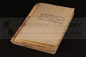 Ian Scoones special effects scrapbook