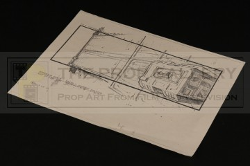 Production used storyboard - Gateway station