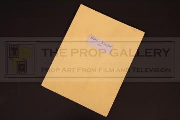 Brian Johnson personal script