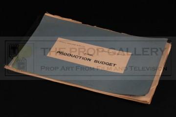 Final production budget