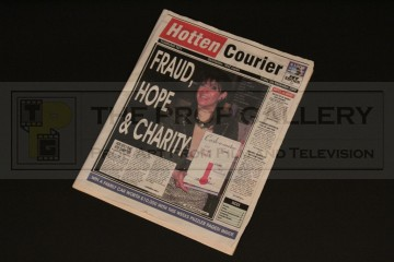 Hotten Courier newspaper