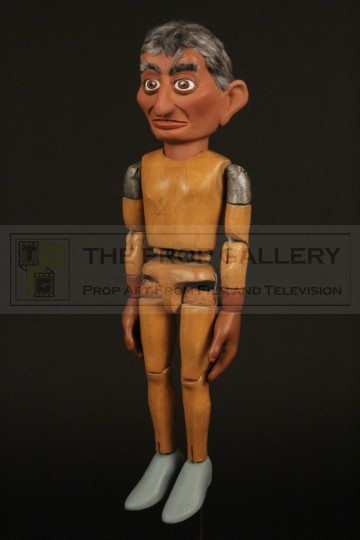 Supermarionation puppet body