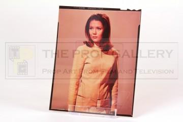 Emma Peel (Diana Rigg) studio transparency - Series V titles