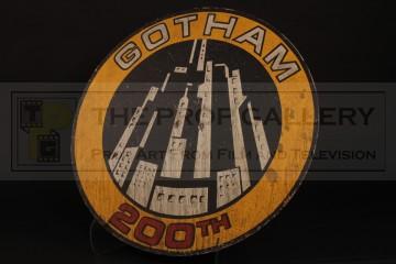 Gotham City 200th anniversary sign