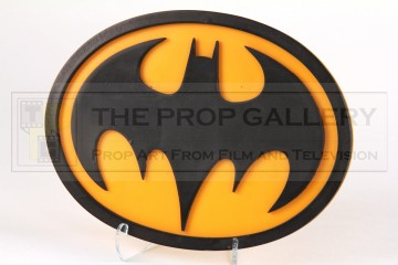 Batman (Michael Keaton) chest emblem