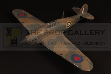 Hawker Hurricane filming miniature