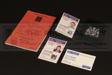 DI Len Harper (David Threlfall) identification wallet & notebook