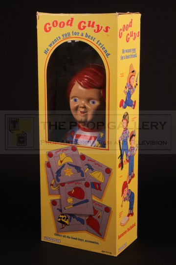 Large Good Guys doll box