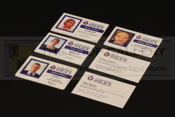 Police identification cards
