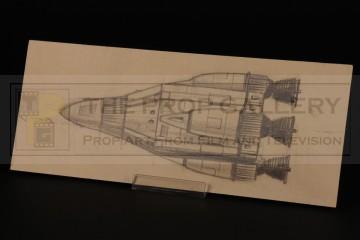Derek Meddings Phoenix command module concept artwork