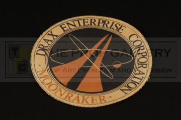 Drax Moonraker costume patch
