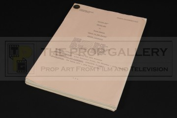 Production used script - Death to the Daleks