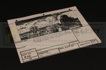 Brian Johnson personal storyboard - Walker cockpit