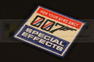007 special effects crew patch