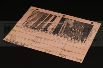 Production used storyboard