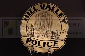 Alternate 1985 Hill Valley Police decal