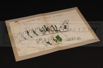 Mooncalf skeleton concept design artwork