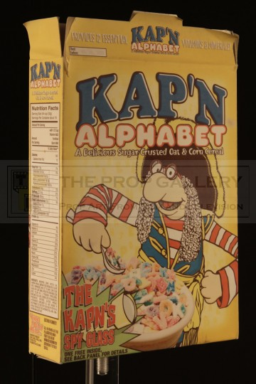 Kap'n Alphabet cereal box