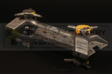 Cyberman war ship filming miniature - Silver Nemesis