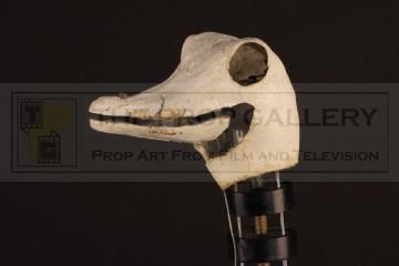 Ostrich puppet head