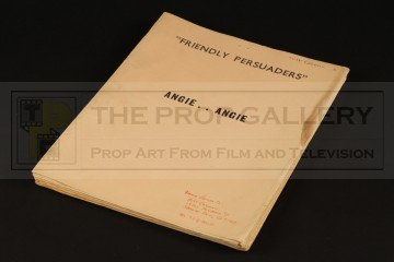 Production used script - Angie, Angie...