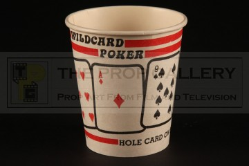 Wildcard poker coffee cup