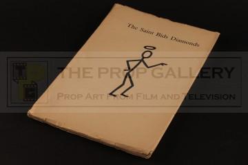 Production used script - The Saint Bids Diamonds
