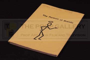 Production used script - The Portrait of Brenda