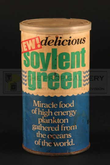 Promotional Soylent Green can