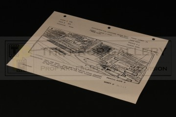 ILM production used storyboard - X-Wing in trench