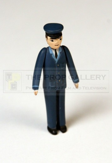 Railway worker miniature