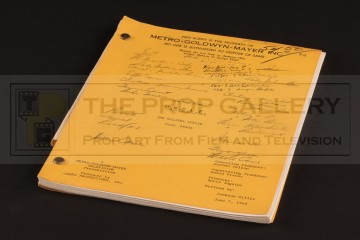Production used script - The Galatea Affair
