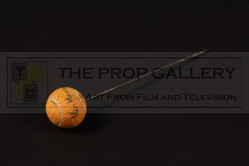 ILM visual effects miniature tennis ball