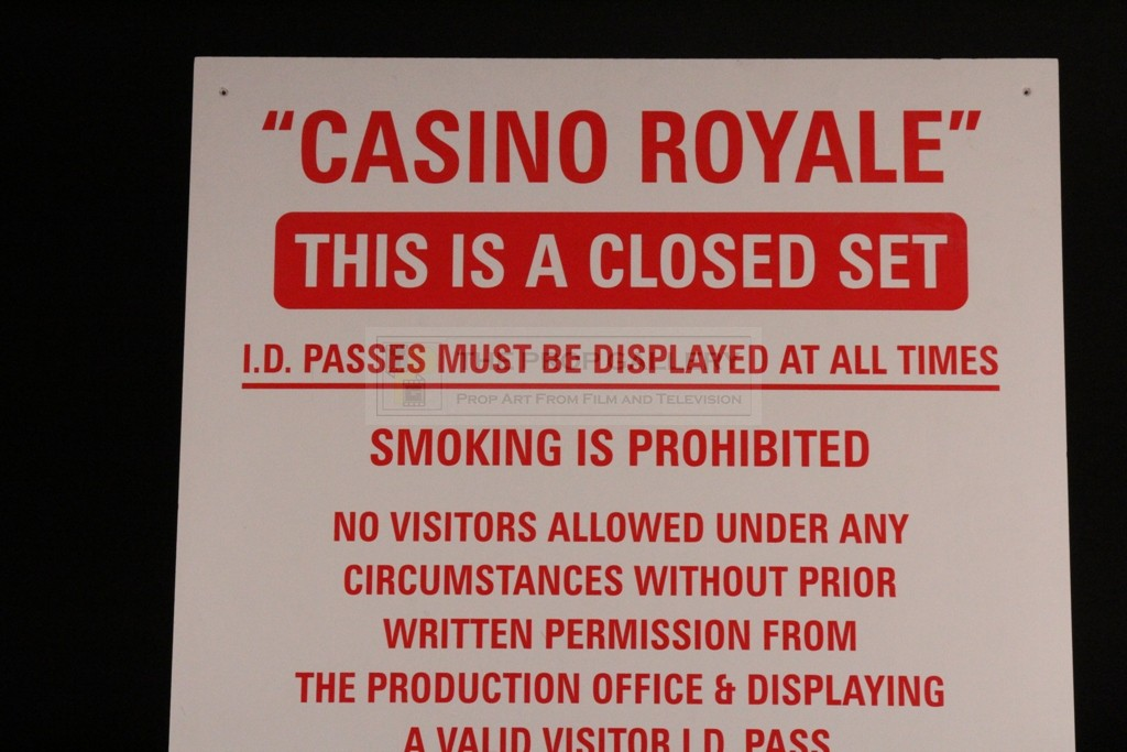 Casino royale setting