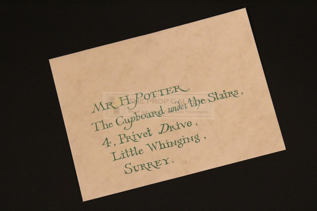 The Prop Gallery Hogwarts Invitation Envelope