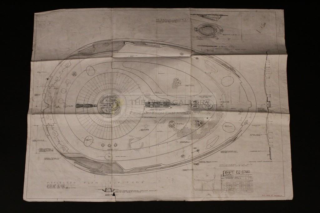The Prop Gallery   Jupiter II model plan