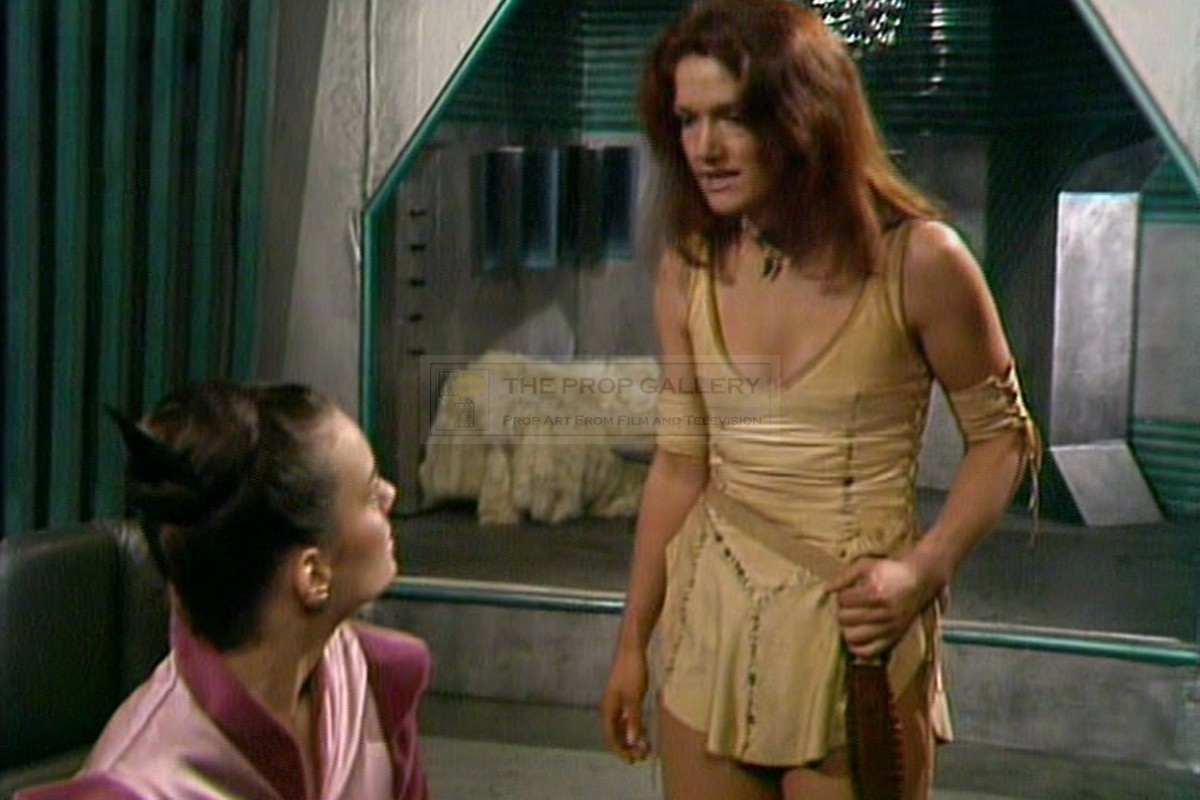 sc 1 st  The Prop Gallery & The Prop Gallery | Leela (Louise Jameson) costume