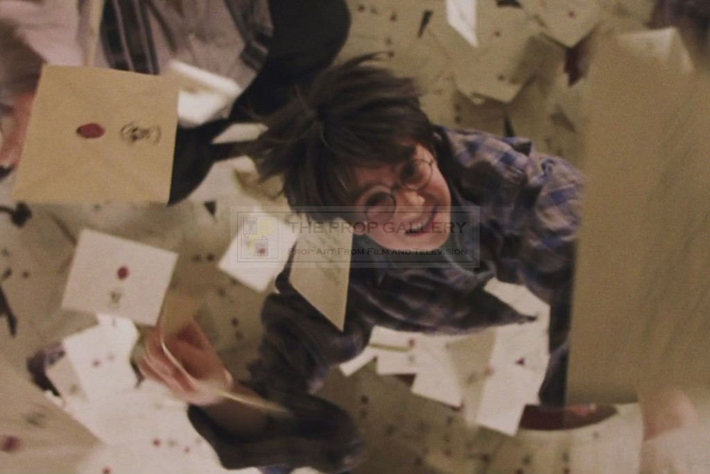 The Prop Gallery | Hogwarts invitation envelope