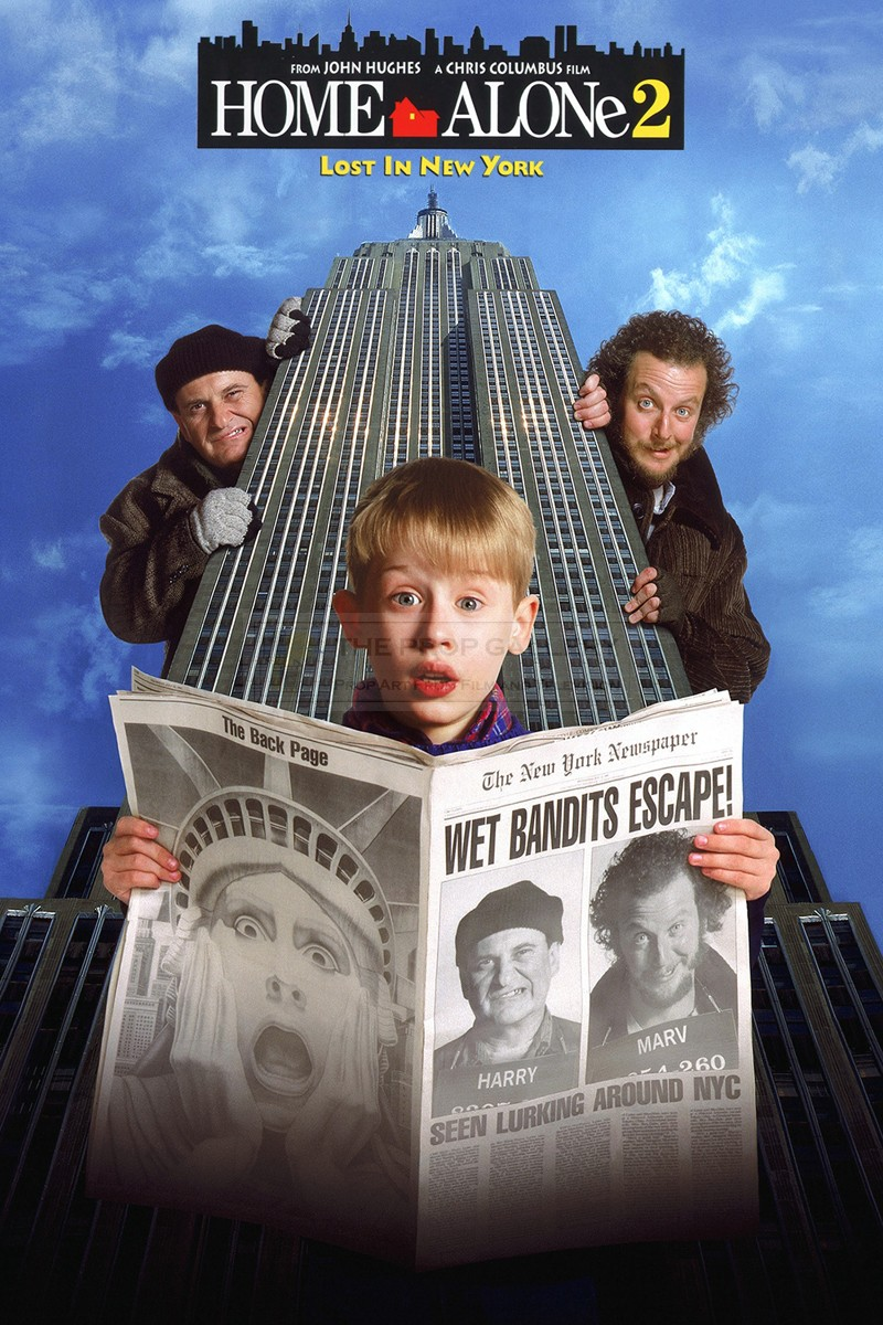 The Prop Gallery Wet Bandits Escape Newspaper
