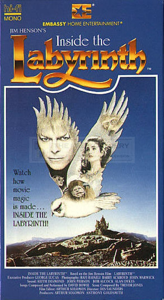 The Prop Gallery | Brian Froud poster concept artwok Labyrinth 1986 Poster