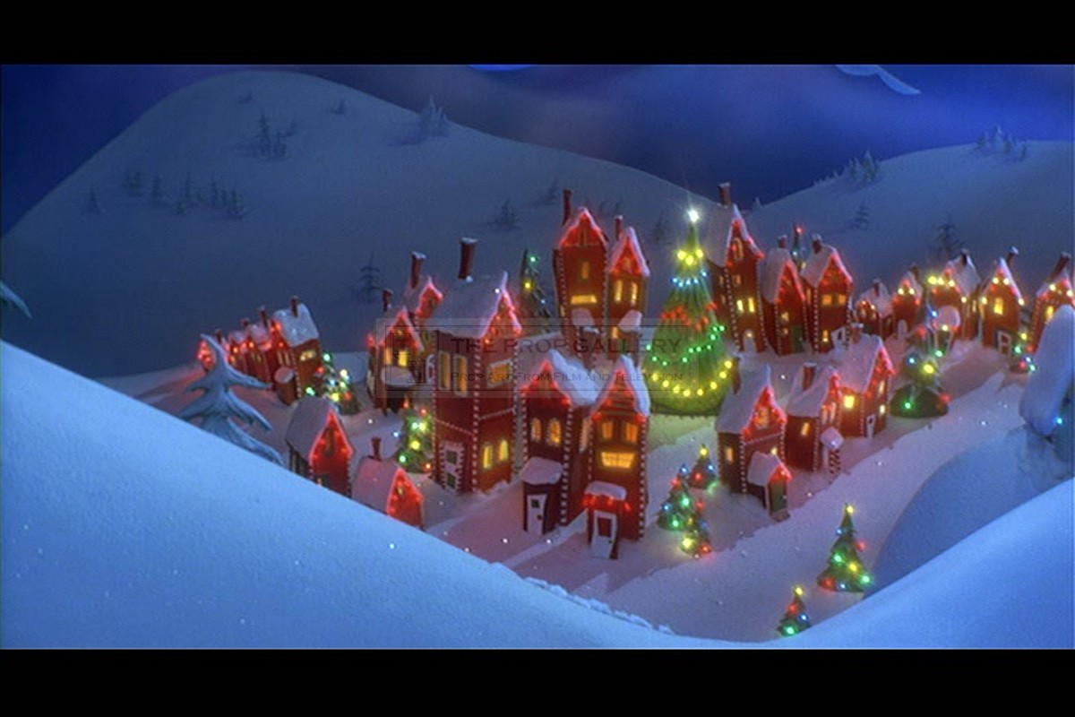 The Prop Gallery | Christmas Town house miniature