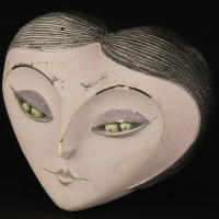 Miss Spider maquette head