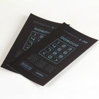 UDF locker keypad acetates