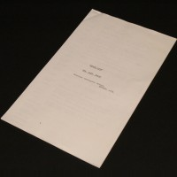 Dialogue continuity script - The Last Enemy