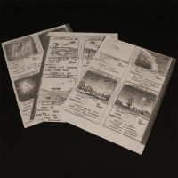 Production used storyboards - War Games