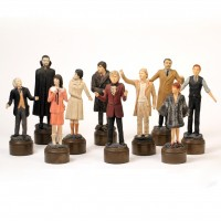 Character figurine set - The Five Doctors