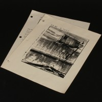 Production used storyboard breakdowns - Benthic Explorer crane