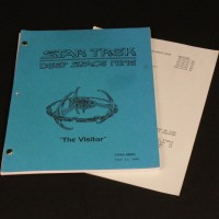 Production used script - The Visitor