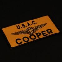 Cooper (Richard T. Jones) name patch