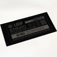 UDF locker sign